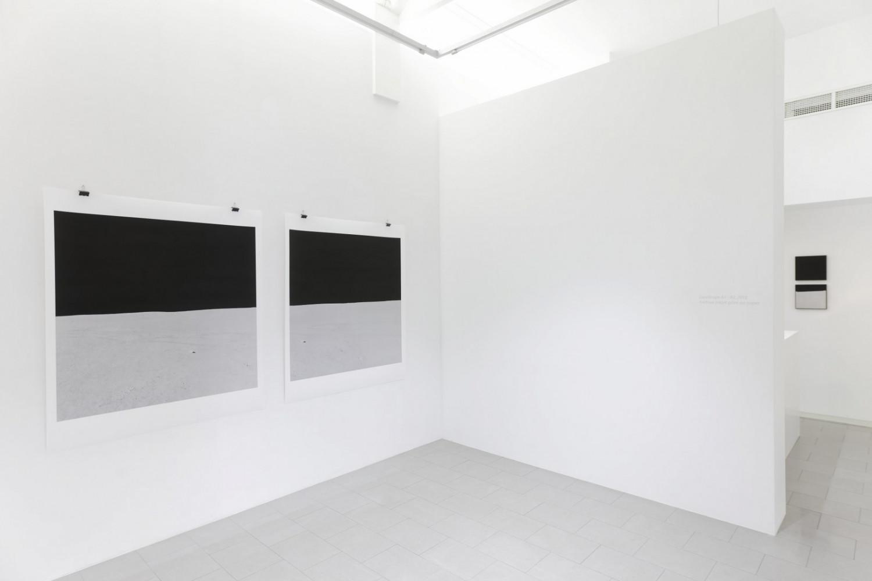 'Luciano Rigolini – Landscape', Installation view, Buchmann Lugano / Via della Posta, 2015