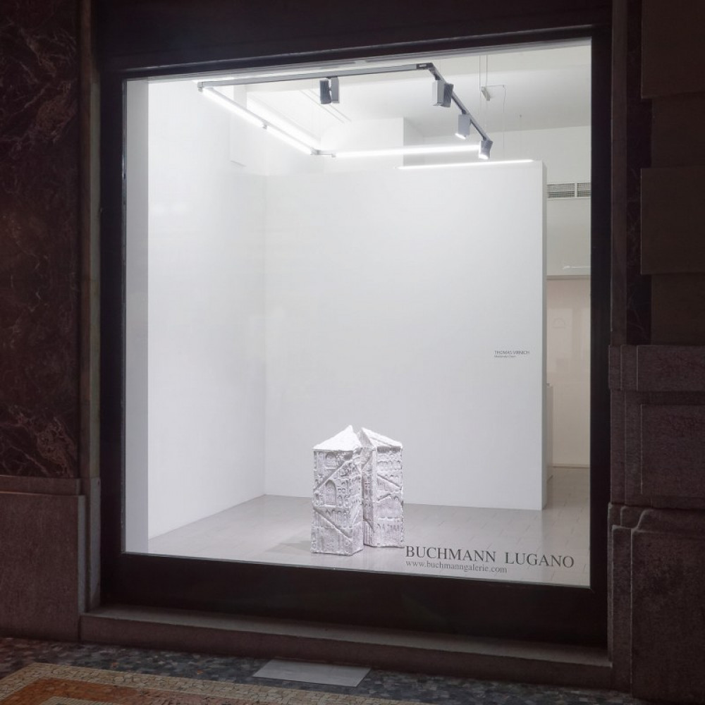 Thomas Virnich, Installation view, Buchmann Lugano / Via della Posta, 2016