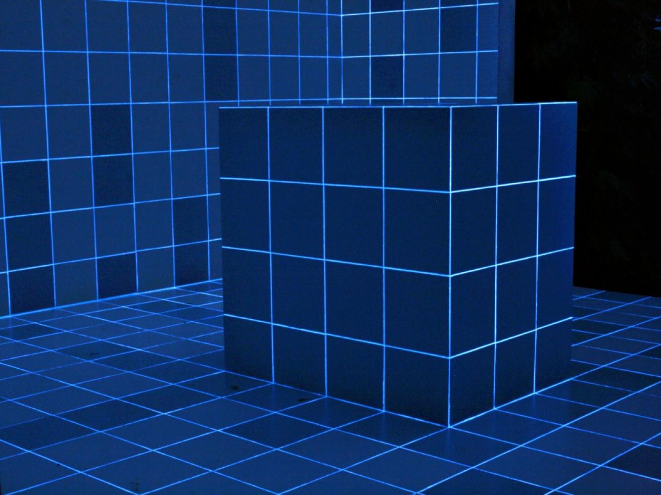 Alex Dorici, 'Azulejos Light Line 844 (night view)', 2016