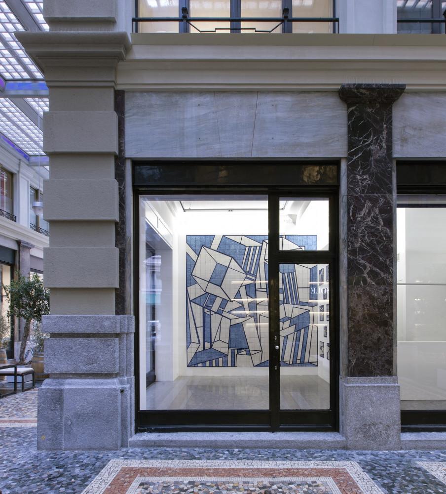 Alex Dorici, Installation view, Buchmann Lugano / Via della Posta, 2017