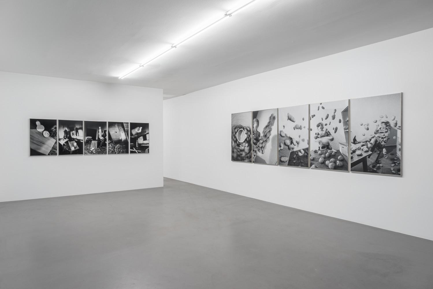 Anna & Bernhard Blume, Installation view, Buchmann Box, 2016