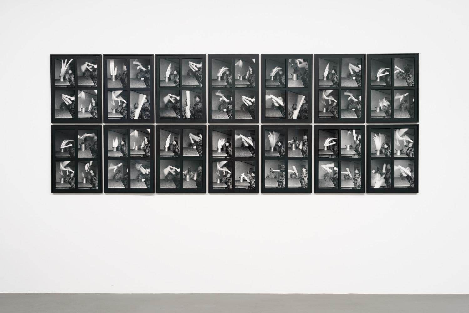 """Anna & Bernhard Blume, 'Spiritistische Szene aus """"Mahlzeit""""', 1985"""