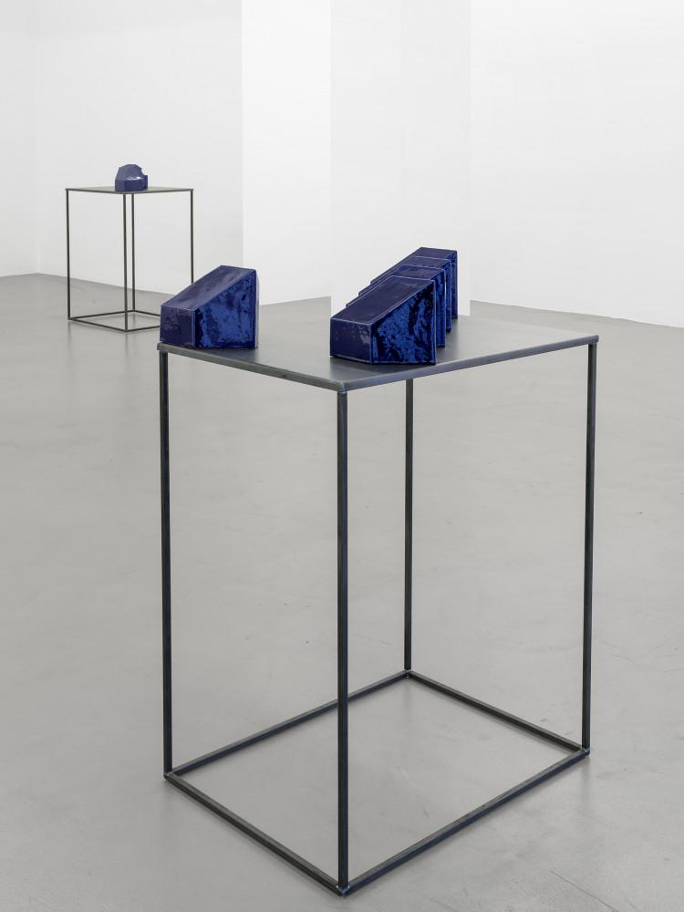 Bettina Pousttchi, 'Ceramics', Installation view, Buchmann Galerie, 2016