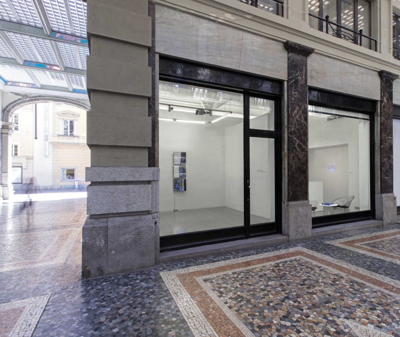 Tatsuo Miyajima, Installation view, Buchmann Lugano / Via della Posta, 2017