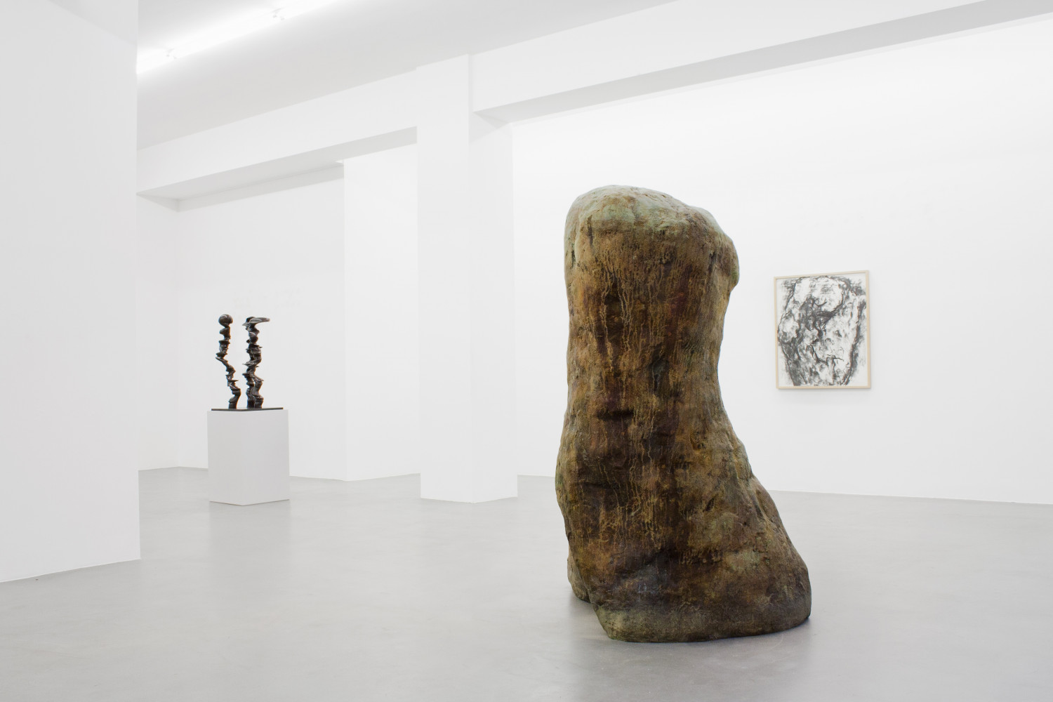 Tony Cragg, William Tucker, 'Figure – Tony Cragg - Martin Disler - Medardo Rosso - William Tucker - Rebecca Warren', Installation view, Buchmann Galerie, 2015–2016
