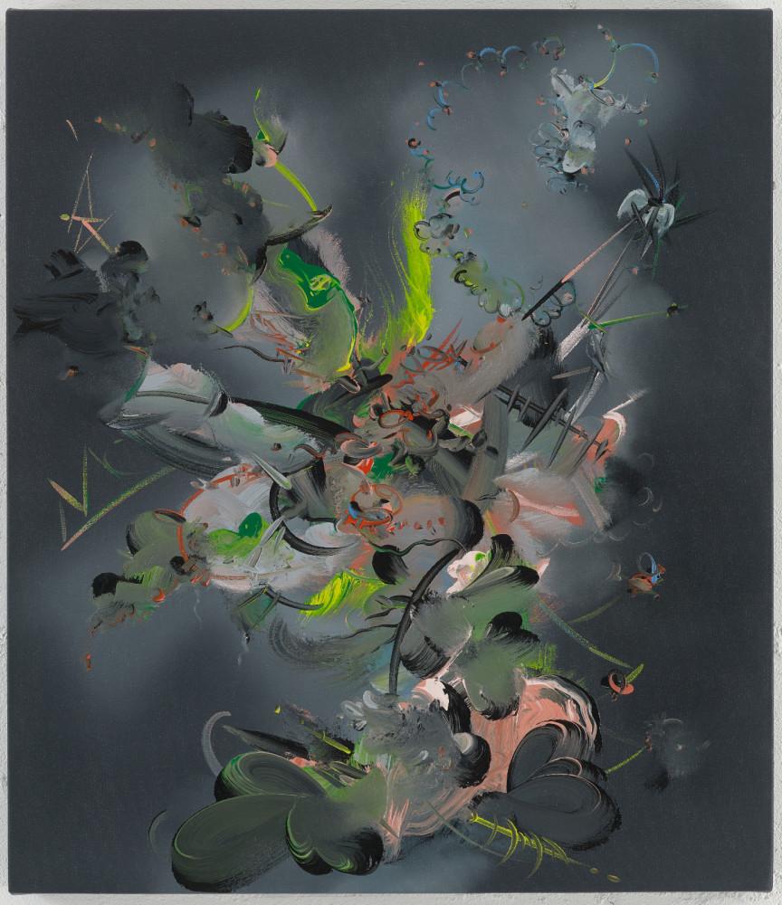 Fiona Rae, 'Figment 3b', 2015