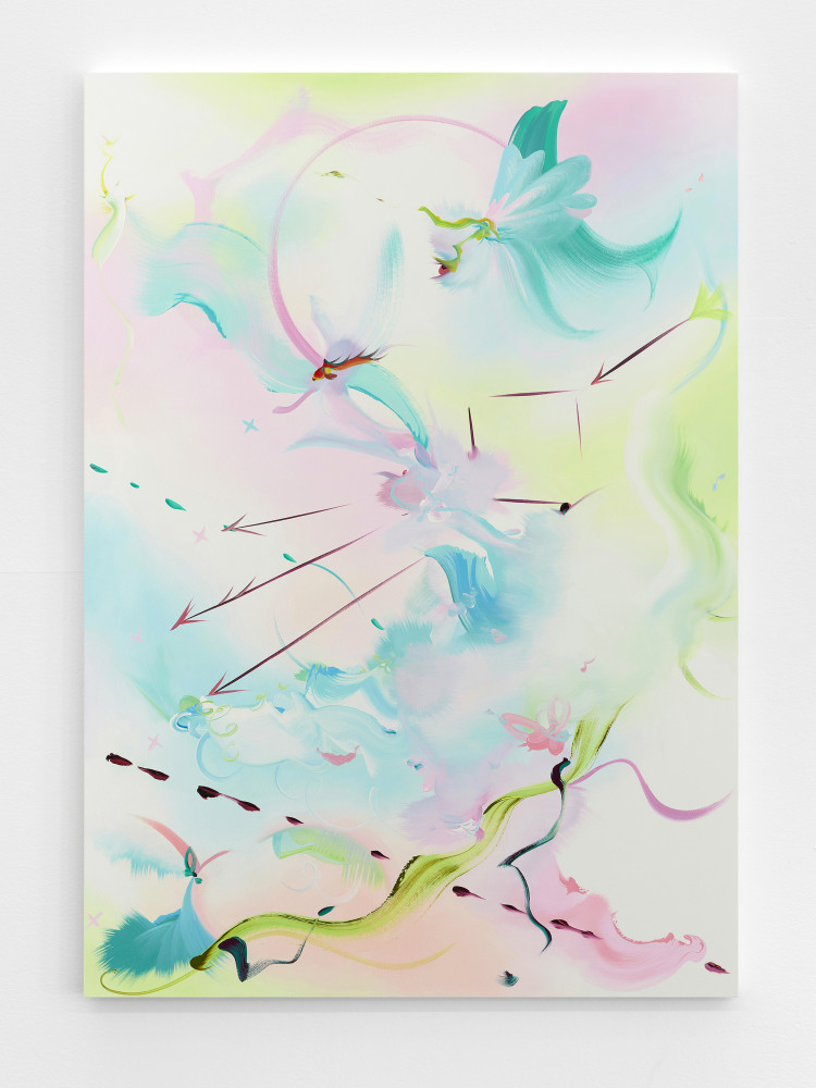 Fiona Rae, 'Snow White changes into something rich and strange', 2017