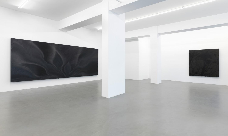 Jason Martin, Installation view, Buchmann Galerie, 2018