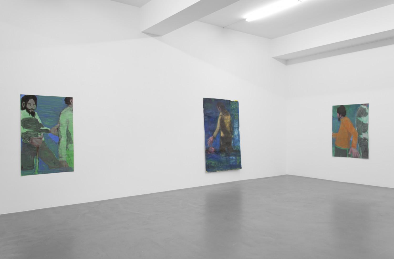 Jean Charles Blais, Installation view, Buchmann Galerie, 2016