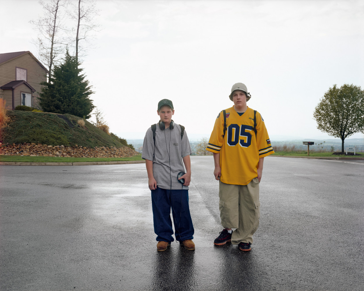 Joel Sternfeld, 'Boys Walking Home after School, Harrisonburg, Virginia, May 1999', 1999