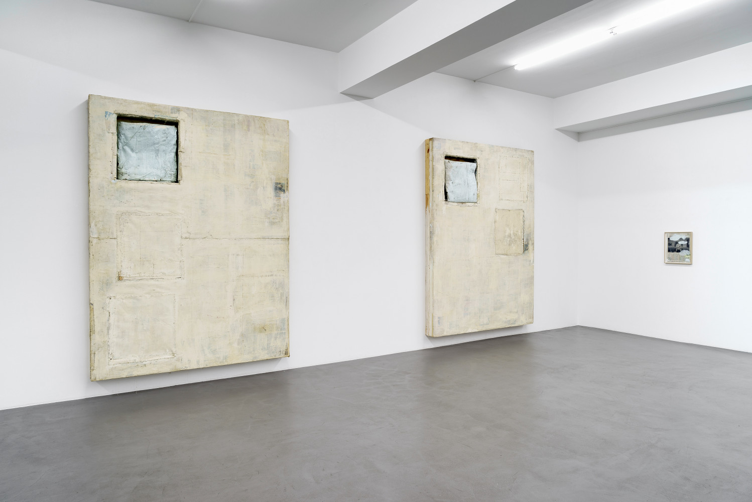 Lawrence Carroll, 'Under the Blue', Installation view, Buchmann Galerie, 2017