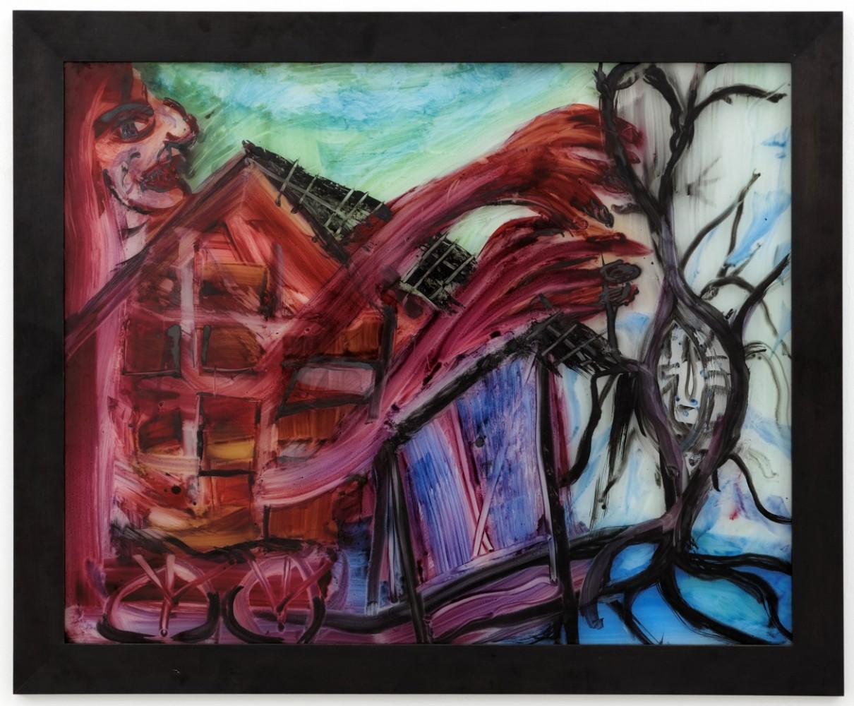 Martin Disler, 'Ohne Titel', 1994