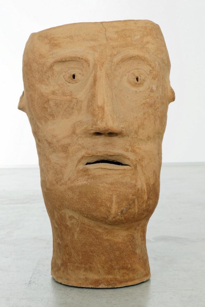 """Martin Disler, 'Ohne Titel (from the group """"Steinzeug und gebrannte Erde"""") recto', 1993"""