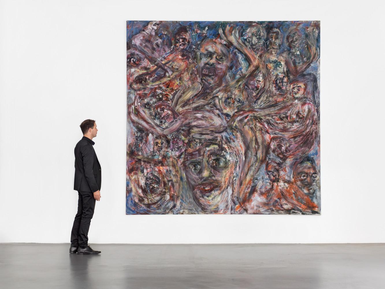 Martin Disler, 'untitled', Installation view, Buchmann Galerie, 1989–1992