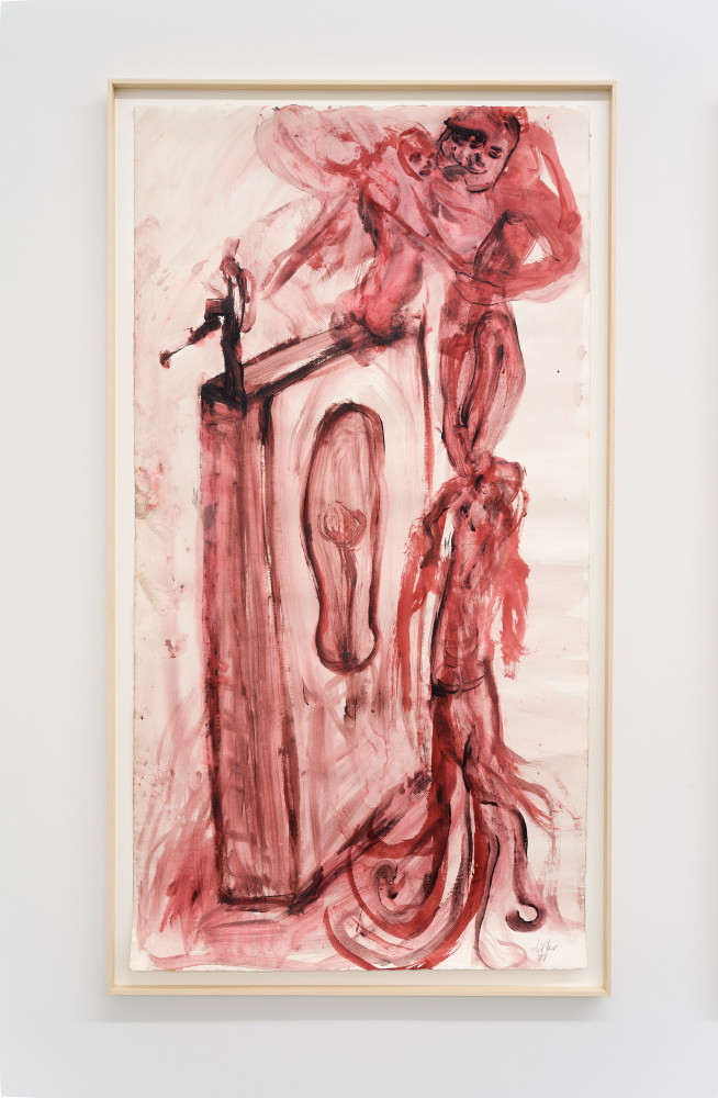 Martin Disler, 'untitled', 1991