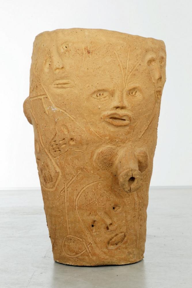 """Martin Disler, 'Ohne Titel (from the group """"Steinzeug und gebrannte Erde"""")', 1993"""