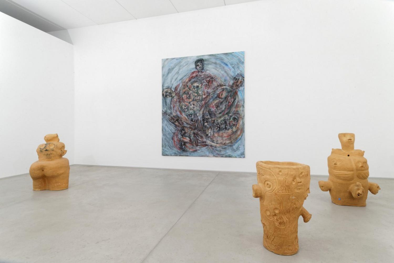 Martin Disler, Installation view, Buchmann Lugano, 2016
