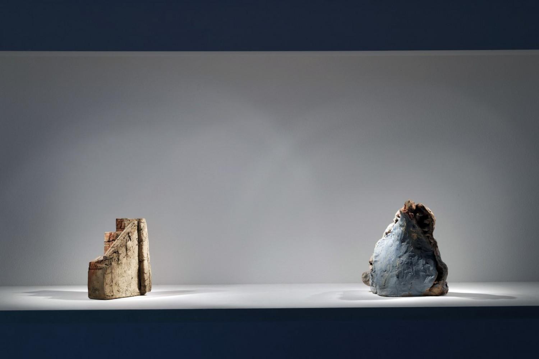 Thomas Virnich, 'Tony Cragg - Alberto Garutti - Martin Disler - Bettina Pousttchi - Alex Dorici - Thomas Virnich - Véronique Arnold – Ceramica / Céramique / Keramik', Installation view, Buchmann Lugano, 2017