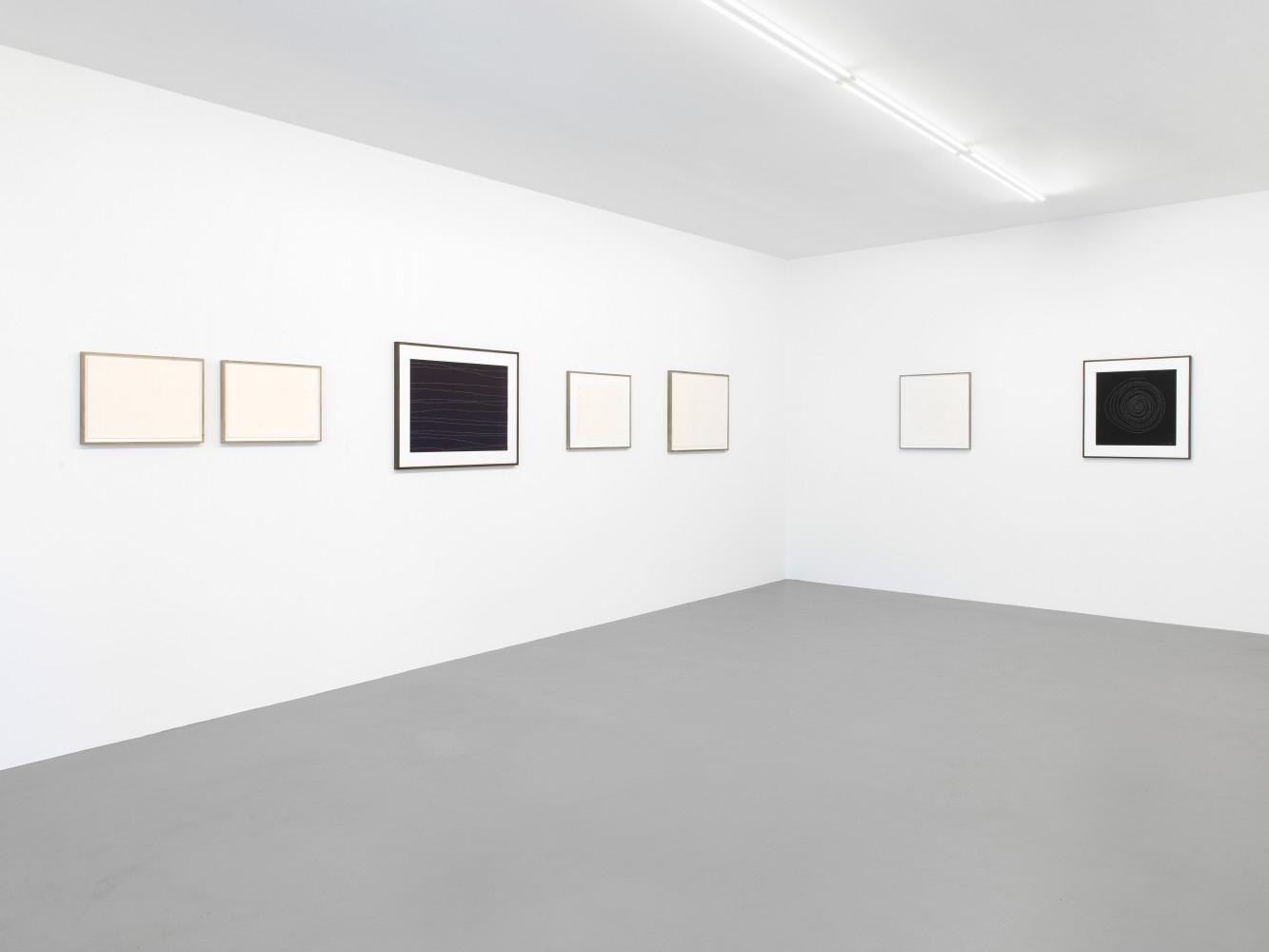Tatsuo Miyajima, 'Drawings', Installation view, Buchmann Box, 2018