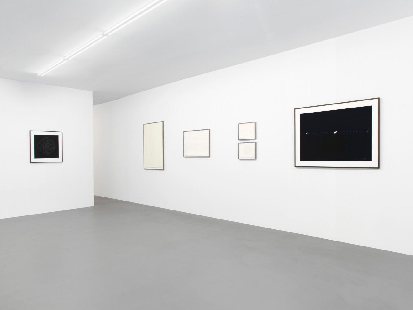 Tatsuo Miyajima, Installation view, Buchmann Box, 2018