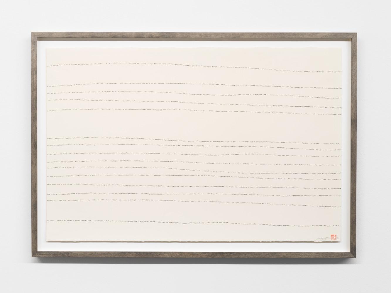 Tatsuo Miyajima, 'Hand-drawn Innumerable Counts 20180302', 2018