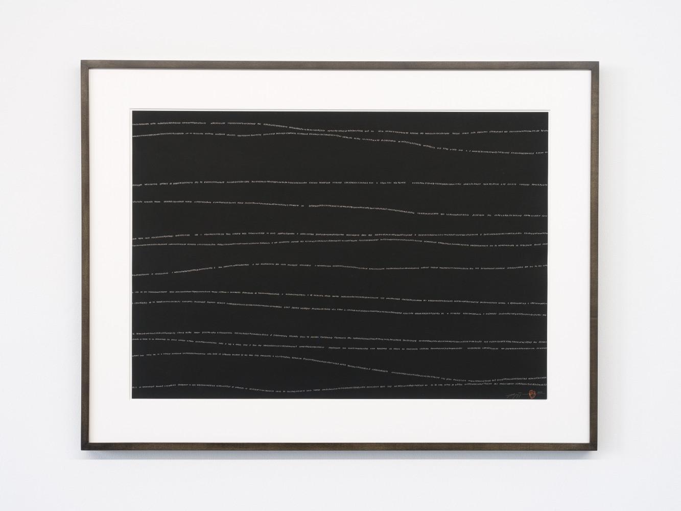 Tatsuo Miyajima, 'Hand-drawn Innumerable Counts 20180306', 2018