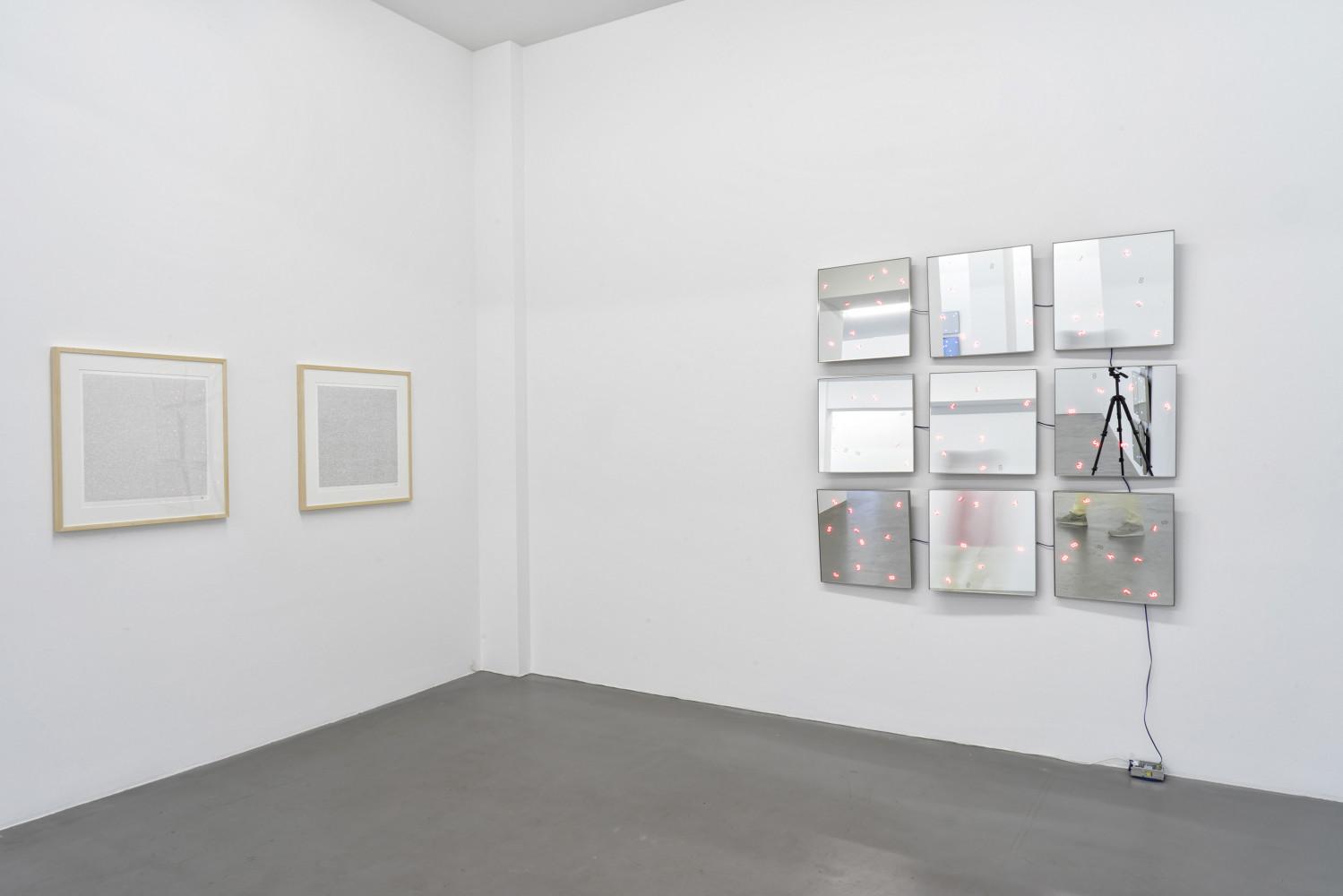 Tatsuo Miyajima, 'Flower Dance', Installation view, Buchmann Galerie, 2017