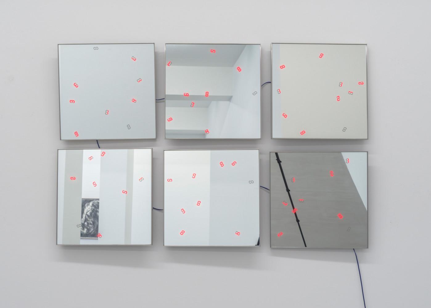 Tatsuo Miyajima, 'C.T.C.S. Flower Dance no. 6', 2017