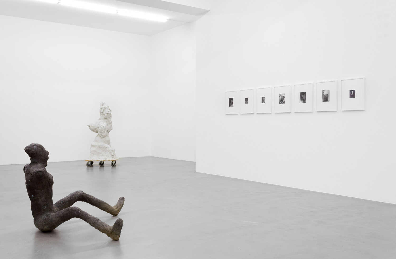 Martin Disler, Medardo Rosso, Rebecca Warren, 'Figure – Tony Cragg - Martin Disler - Medardo Rosso - William Tucker - Rebecca Warren', Installation view, Buchmann Galerie, 2015–2016