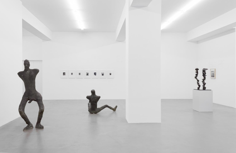 Tony Cragg, Martin Disler, Medardo Rosso, 'Figure – Tony Cragg - Martin Disler - Medardo Rosso - William Tucker - Rebecca Warren', Installation view, Buchmann Galerie, 2015–2016