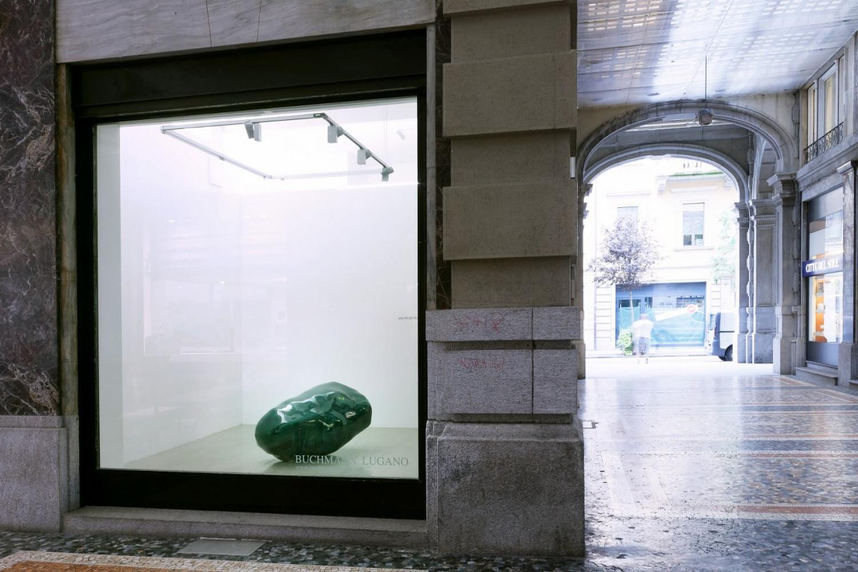 Wilhelm Mundt, '659', Installation view, Buchmann Lugano / Via della Posta, 2016