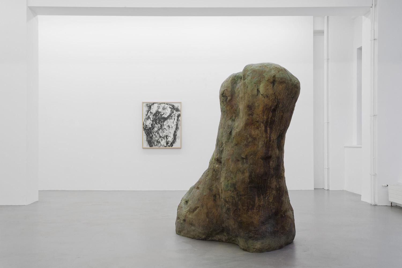 William Tucker, 'Figure – Tony Cragg - Martin Disler - Medardo Rosso - William Tucker - Rebecca Warren', Installation view, Buchmann Galerie, 2015–2016