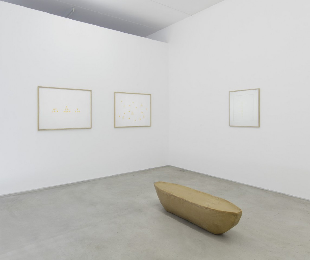 Wolfgang Laib, Installation view, Buchmann Lugano, 2018