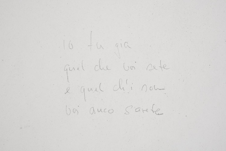 Wolfgang Laib, 'Io fu già quel che voi sete, e quel ch'i son voi anco sarete, detail', 2018