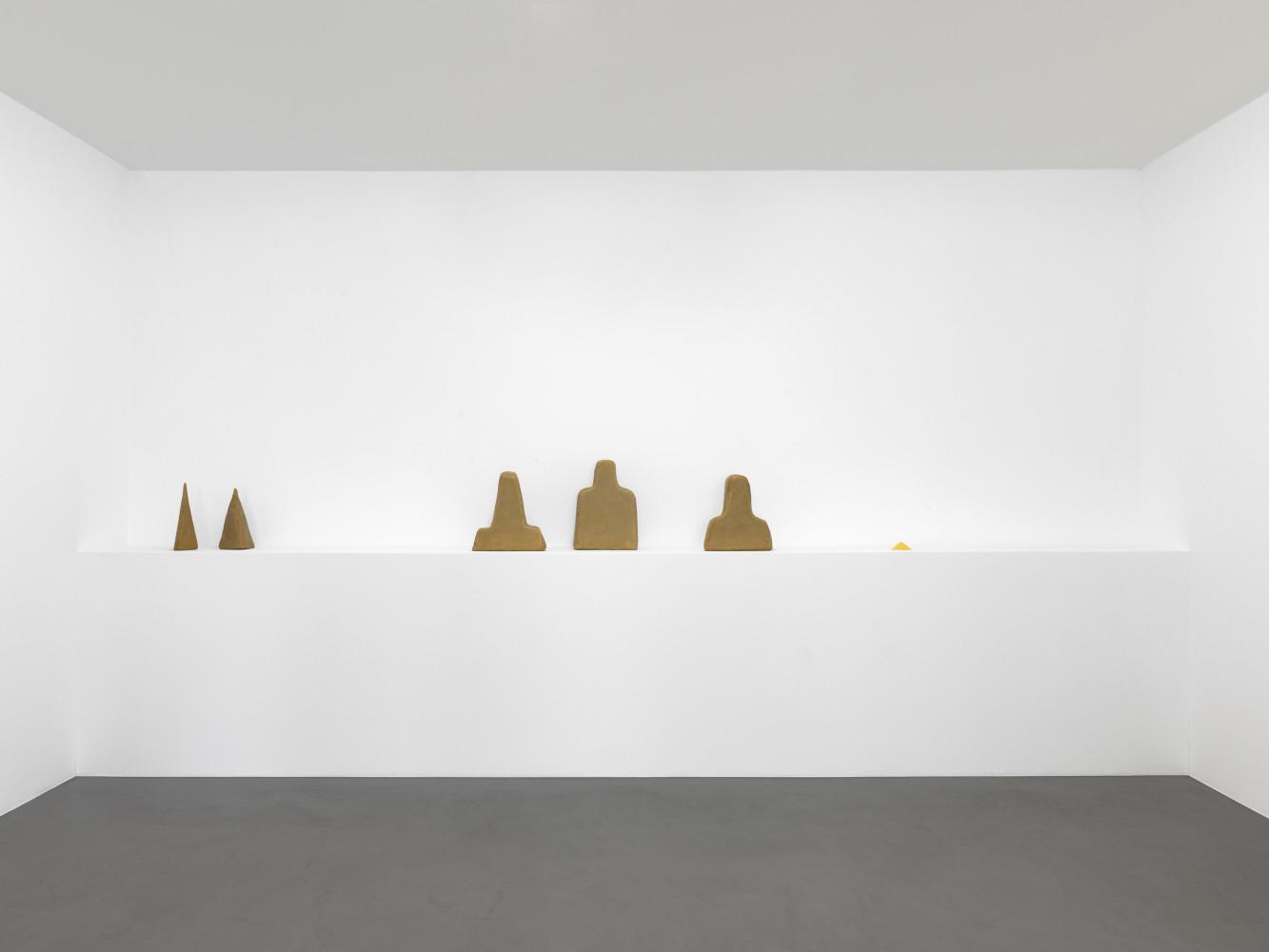 Wolfgang Laib, Installation view, Buchmann Box, 2015