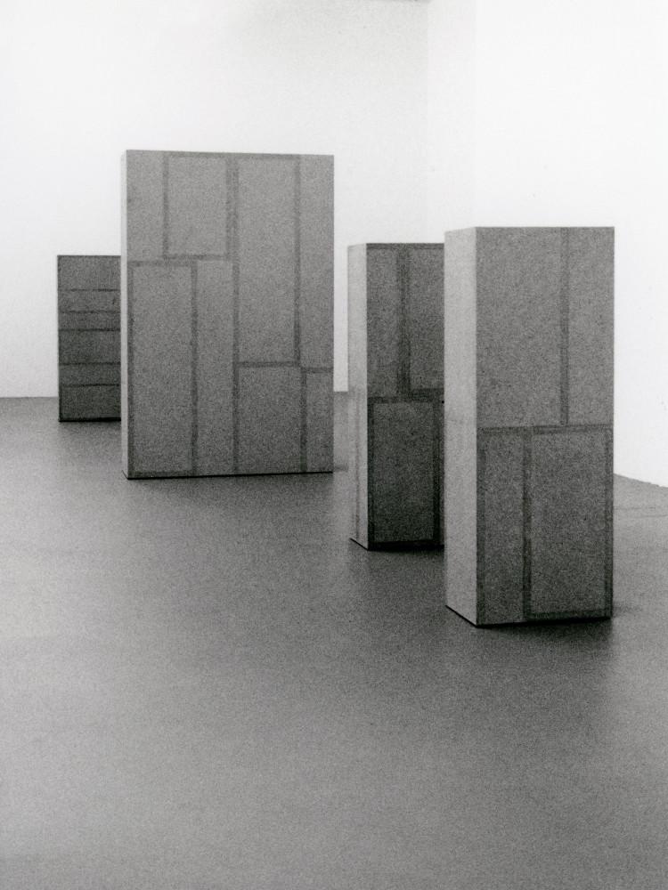 'Willy Kopf', Installation view, 1996