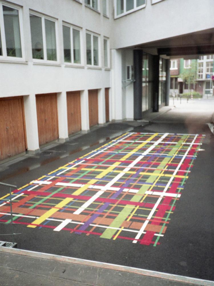 'Beat Zoderer - Bezeichnung No. 2/96', Installation view, 1997