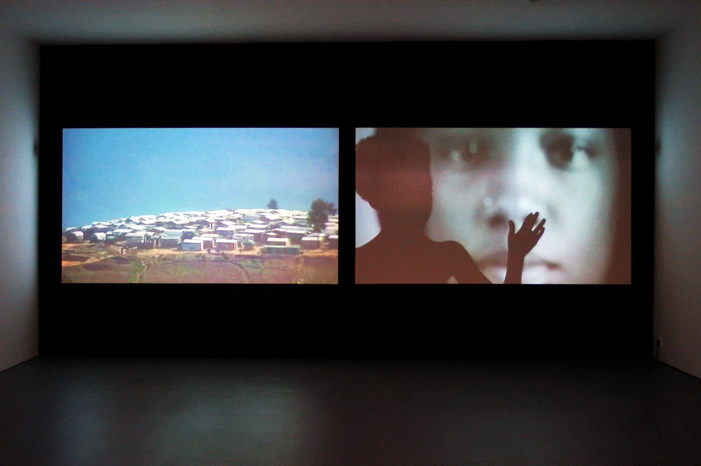 'Marcel Odenbach', Installation view, 2004