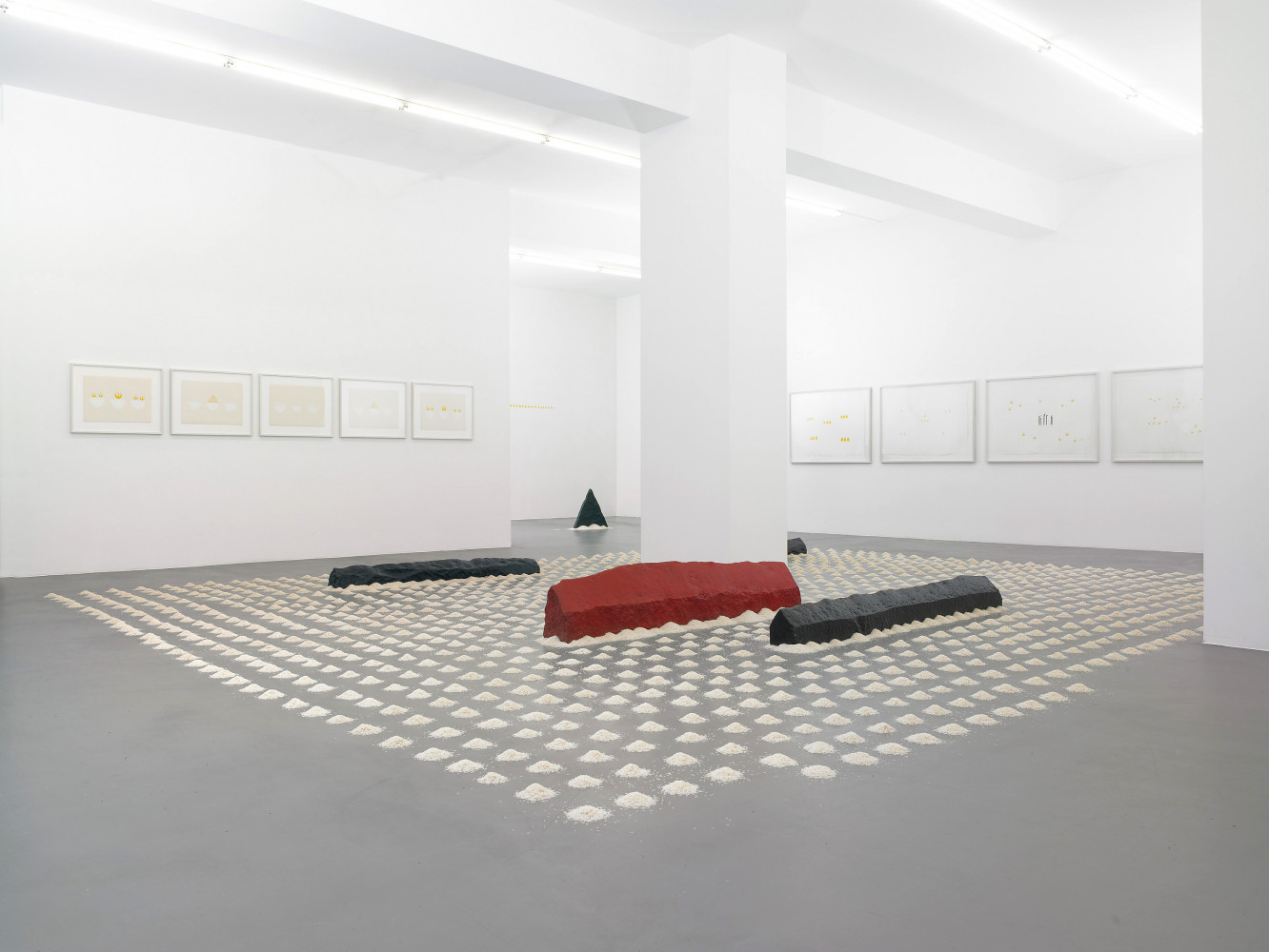 'Wolfgang Laib', Installation view, Buchmann Galerie, 2011