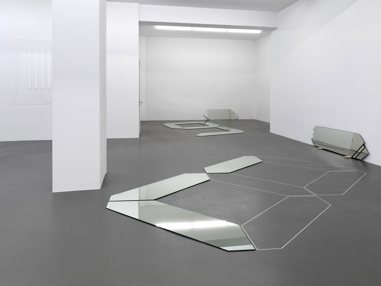 'Daniel Buren, Tony Cragg, Tatsuo Miyajima', Installation view, Buchmann Galerie, 2012