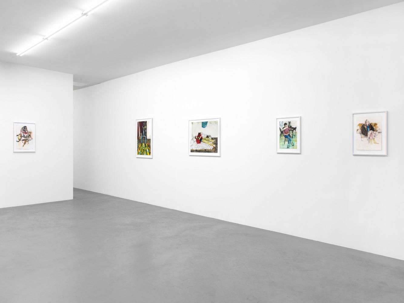 Raffi Kalenderian, Installation view, Buchmann Box, 2014