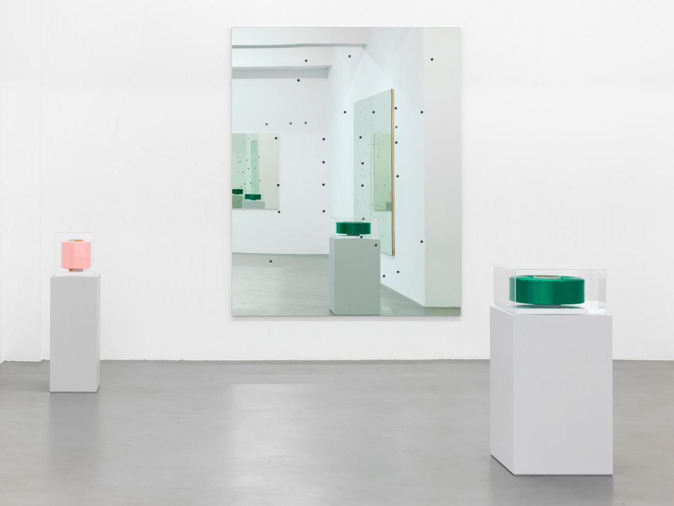 Alberto Garutti, Installation view, Buchmann Galerie