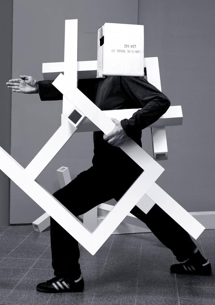 Anna & Bernhard Blume, 'Hommage à Oskar Schlemmer', 2006–2008