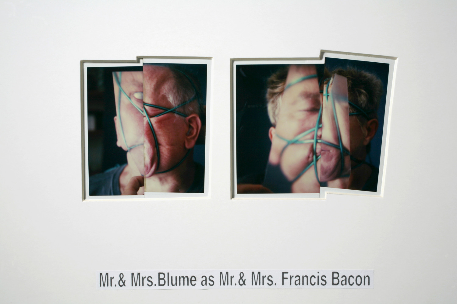 Anna & Bernhard Blume, 'Mr. & Mrs. Blume as Mr. & Mrs. Francis Bacon', 1995