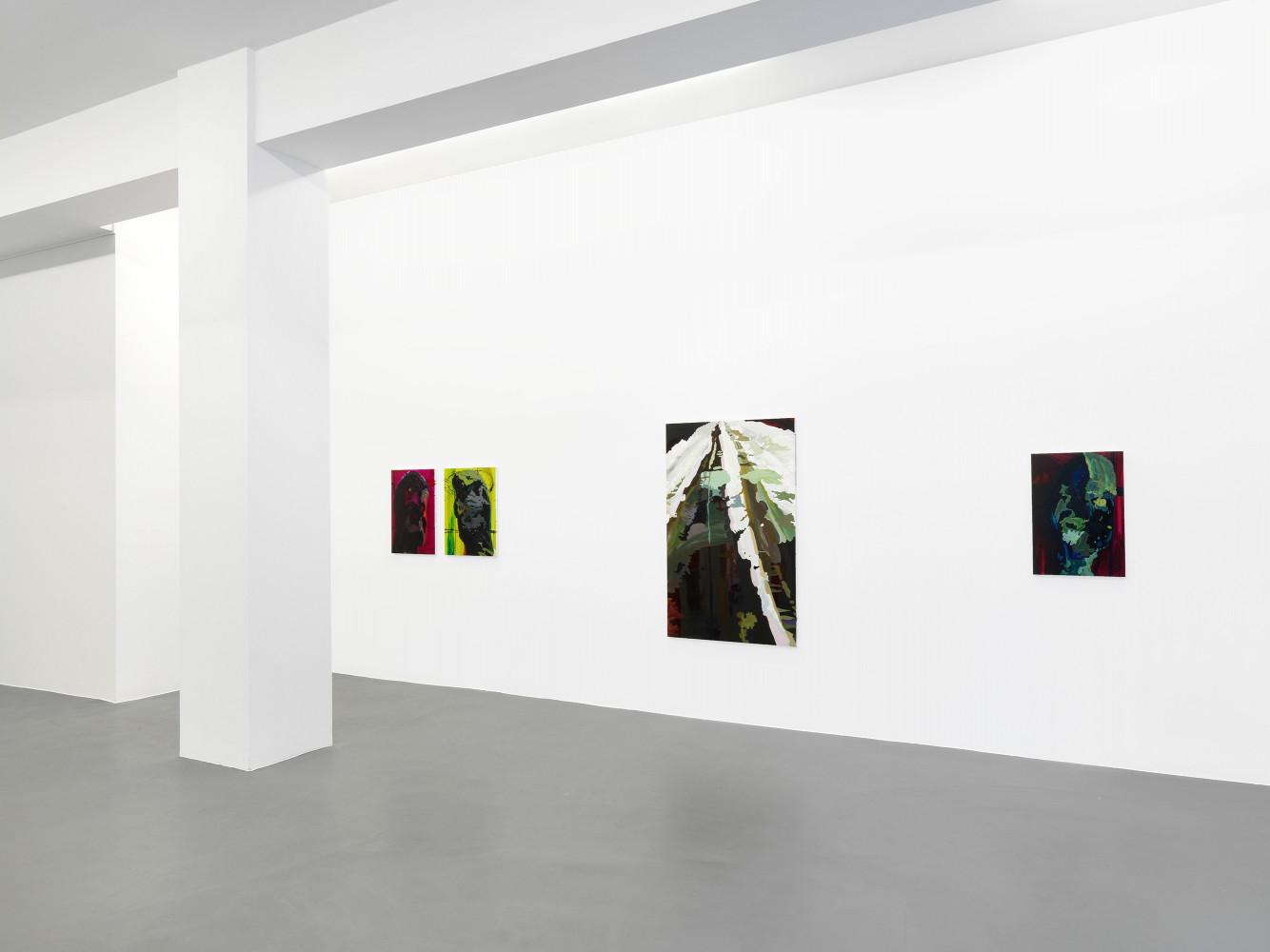 Clare Woods, 'The Dark Matter', Installation view, Buchmann Galerie, 2012