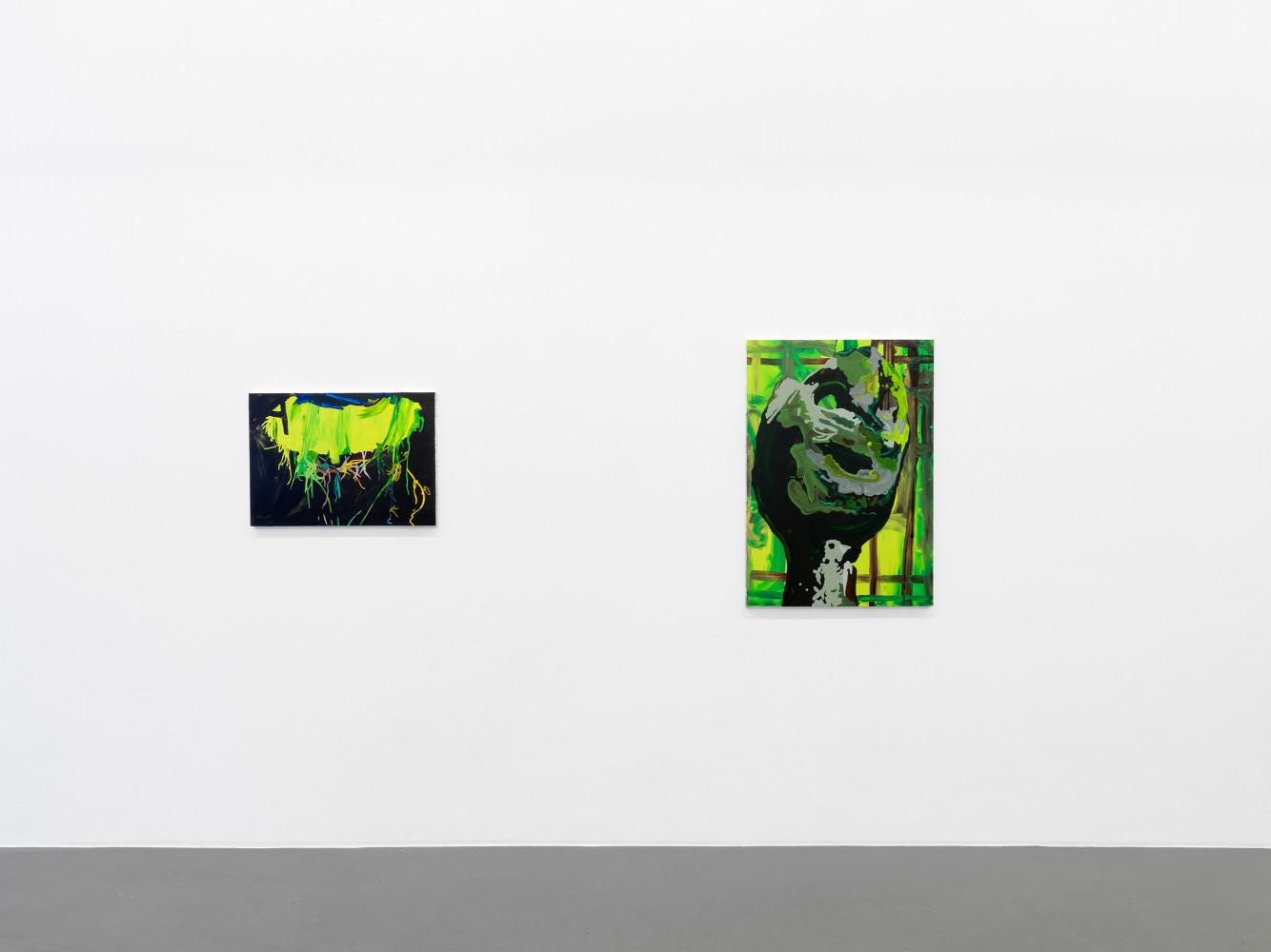 Clare Woods, 'The Dark Matter', Installation view, Buchmann Galerie