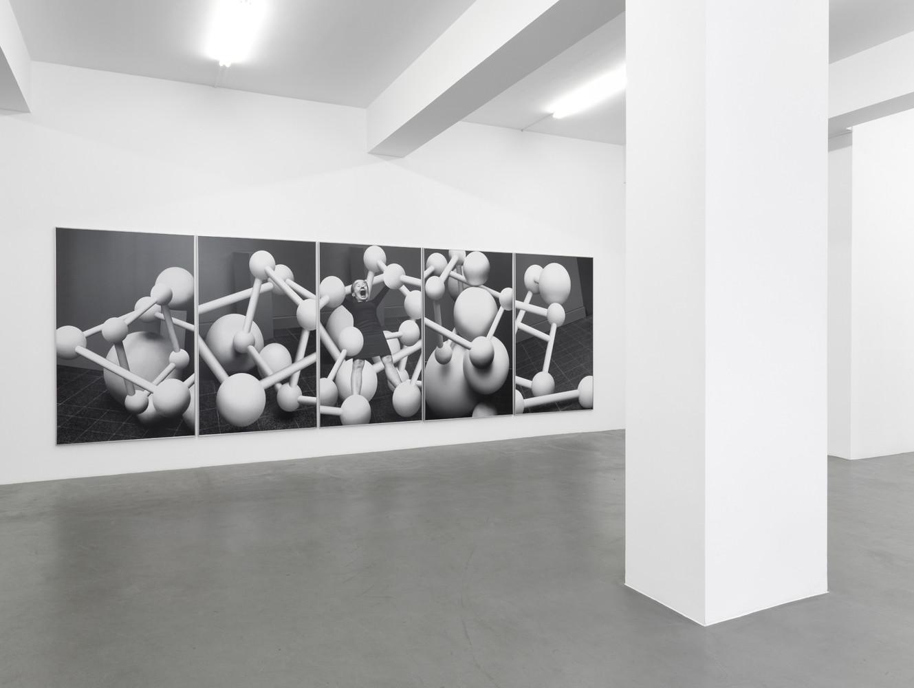 Anna & Bernhard Blume, 'Aktionsmetaphern', Installation view, Buchmann Galerie, 2011