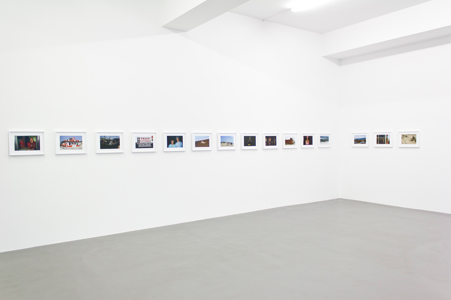 Joel Sternfeld, 'First Pictures', Installation view, Buchmann Galerie, 2014