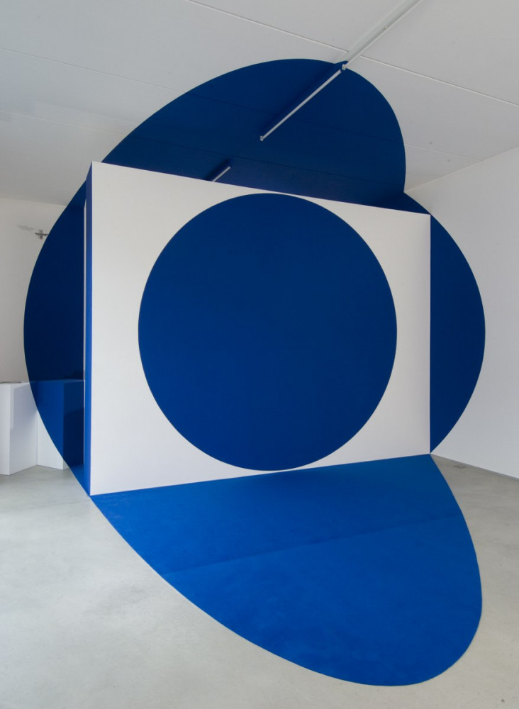 Felice Varini, 'Trois disques, deux pleins un vide', 2011