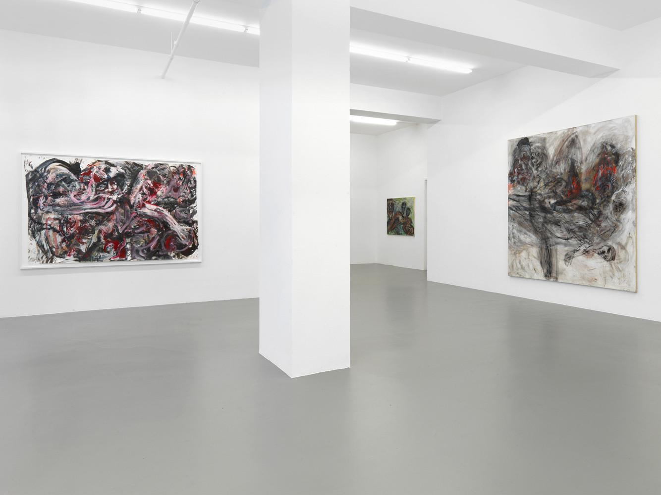 Martin Disler, 'Malerei', Installation view, Buchmann Galerie, 2014